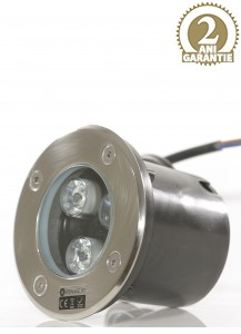 Spot LED exterior incastrabil RGB PS007 3W