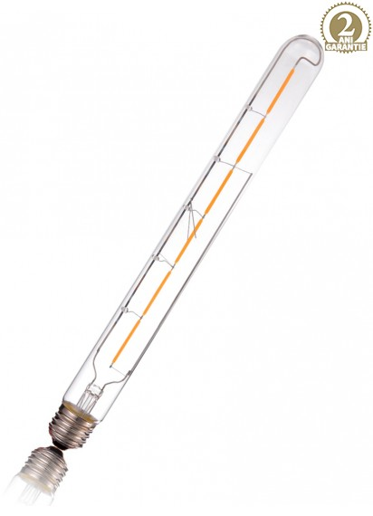 Bec LED filament T30 Tub E27 6W