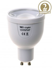 Bec LED WiFi 4W Mi-Light RGB-WW GU10